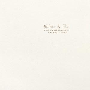 Confetti Foil Envelope