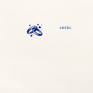 Wedding Rings Foil Envelope