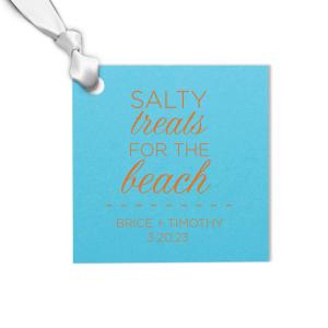 Beach Gift Tag