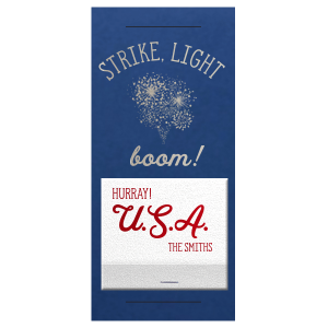 Holiday Boom Sparkler Sleeve