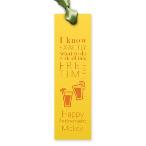 Free Time Bookmark