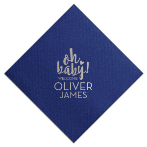 Oh Baby! Welcome Napkin