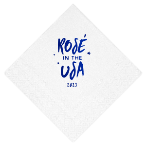 Rosé In The USA Napkin