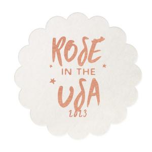 Rosé In The USA Coaster