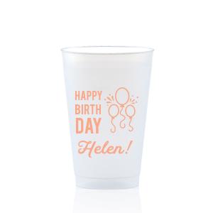 Birthday Balloon Frost Flex Cup