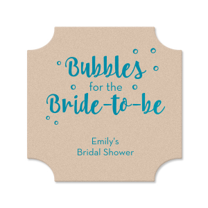 Bubbly Bride Coaster