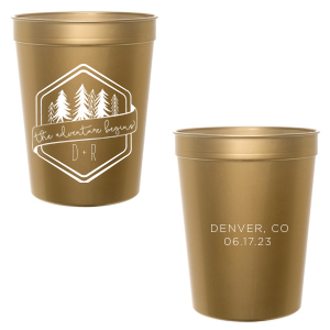 Adventure Begins Trees Cup