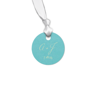 Initial Gift Tag