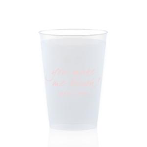 You Make Me Blush Frost Flex Cup