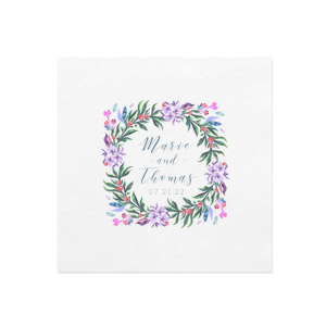 Vibrant Frame Photo/Full Color Napkin