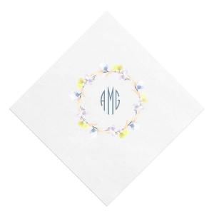 Bright Wreath Photo/Full Color Napkin