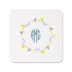 Bright Wreath Photo/Full Color Coaster
