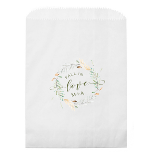 Fall In Love Photo/Full Color Party Bag