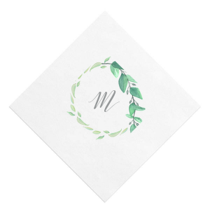 Leaf Drape Photo/Full Color Napkin