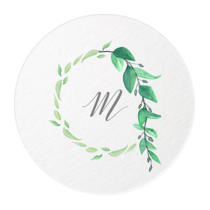 Leaf Drape Photo/Full Color Coaster