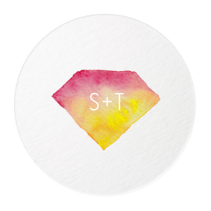 Diamond Photo/Full Color Coaster