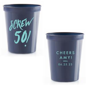 Screw 50! Stadium Cup