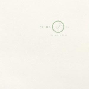 Scallop Foil Envelope