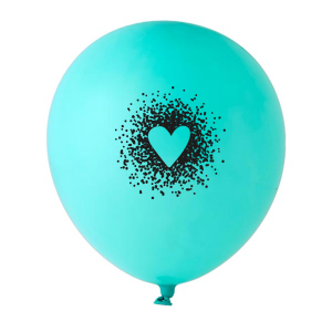 Dotted Heart Balloon