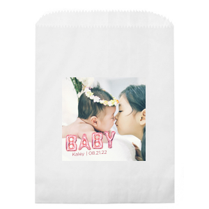 BABY Balloon Photo/Full Color Party Bag
