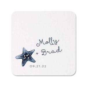 Nautical Star Photo/Full Color Coaster