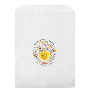 Autumn Flower Photo/Full Color Party Bag