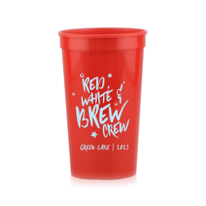 Red, White & Brew Stadium Cup
