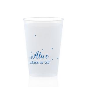 Sweet Polka Dot Frost Flex Cup