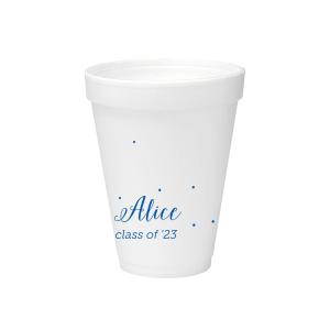 Sweet Polka Dot Foam Cup