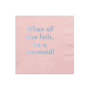 Be A Mermaid Napkin