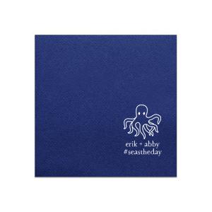 Octopus Couple Napkin