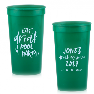 Eat, Drink & Pool Party Stadium Cup