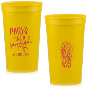Party Like A Pineapple Stadium Cup