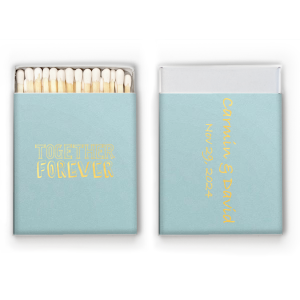 Together Forever Matchbox