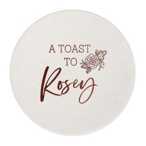 A Toast To Peony Coaster