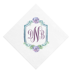 Succulent Crest Photo/Full Color Napkin