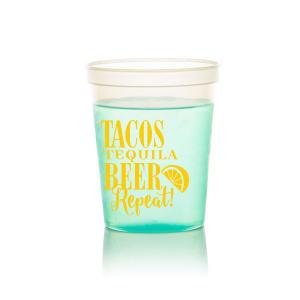 Tequila Beer Repeat Stadium Cup