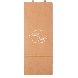 Modern Script Badge Bag