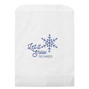 Let It Snow Bag