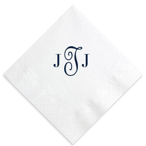Mixed Monogram Napkin