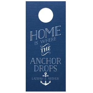 Home is Where The Anchor Drops Favor