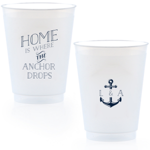 Home Is Where The Anchor Drops Frost Flex Cup