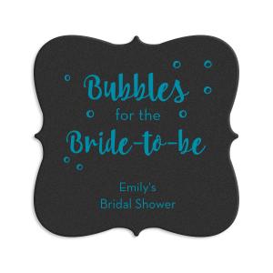 Bubbly Bride Coaster