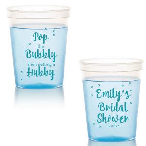 Bubbly Bride Cup