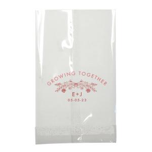 Growing Together Floral Wedding Bag
