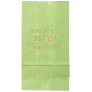 Seed Favor Bag