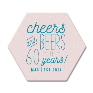 Cheers and Beers Coaster