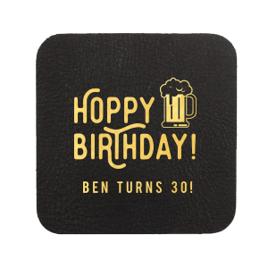 Hoppy Birthday Coaster