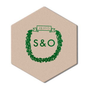 Banner Wreath Coaster