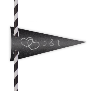 The Adventure Continues Straw Tag